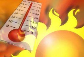 ارتفاع درجة الحراره